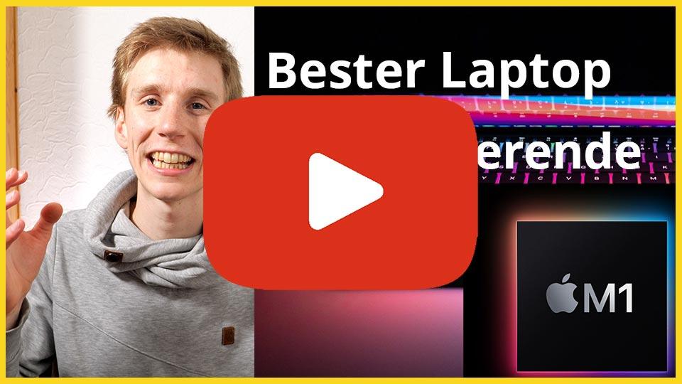 Bester Laptop für Studierende YouTube Video Link